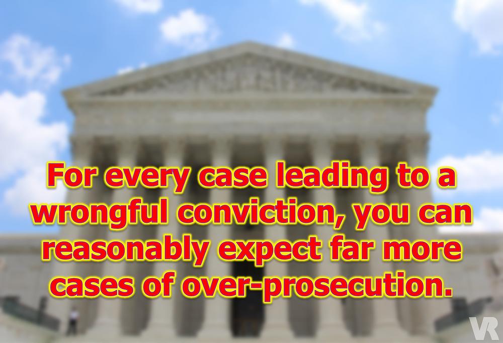 over-prosecution