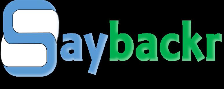 Saybackr_trademark