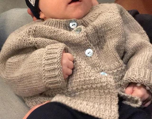 Handmade#cardigan#wool#knitwear#babycard