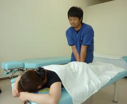柔道整復師による手技