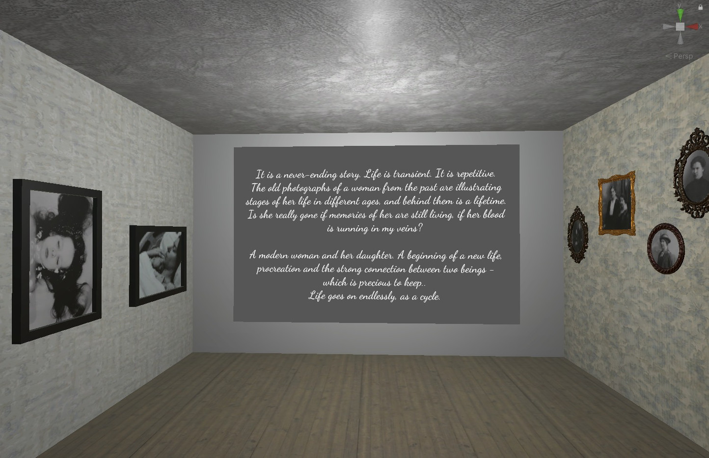 Virtual Gallery Anna's Room 1