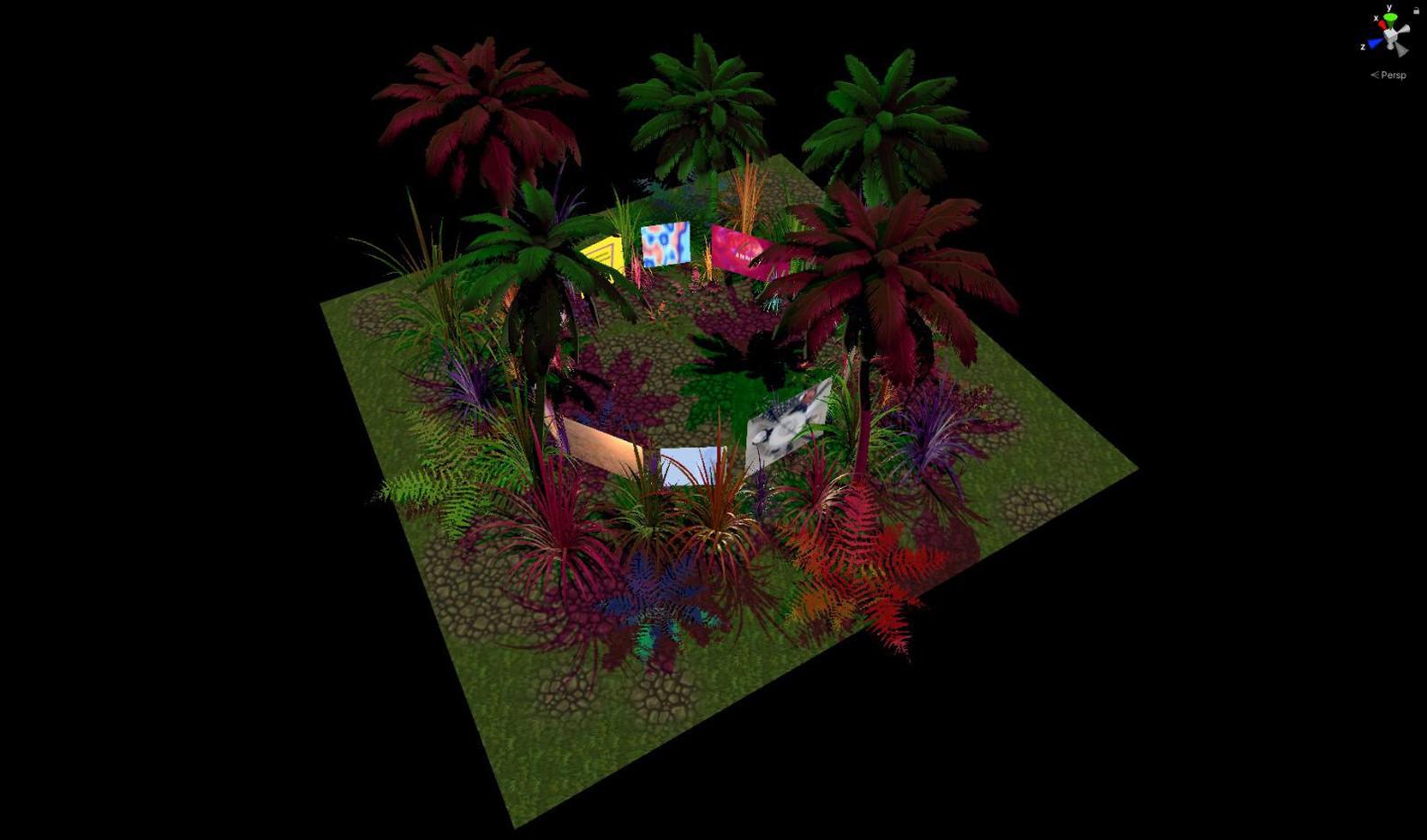 Virtual Gallery Main Room 3