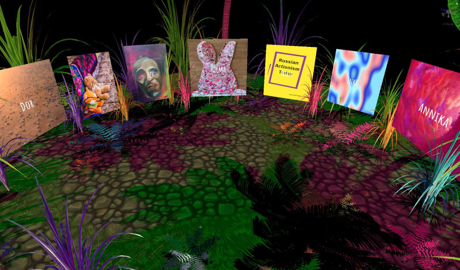Virtual Gallery Main Room 2