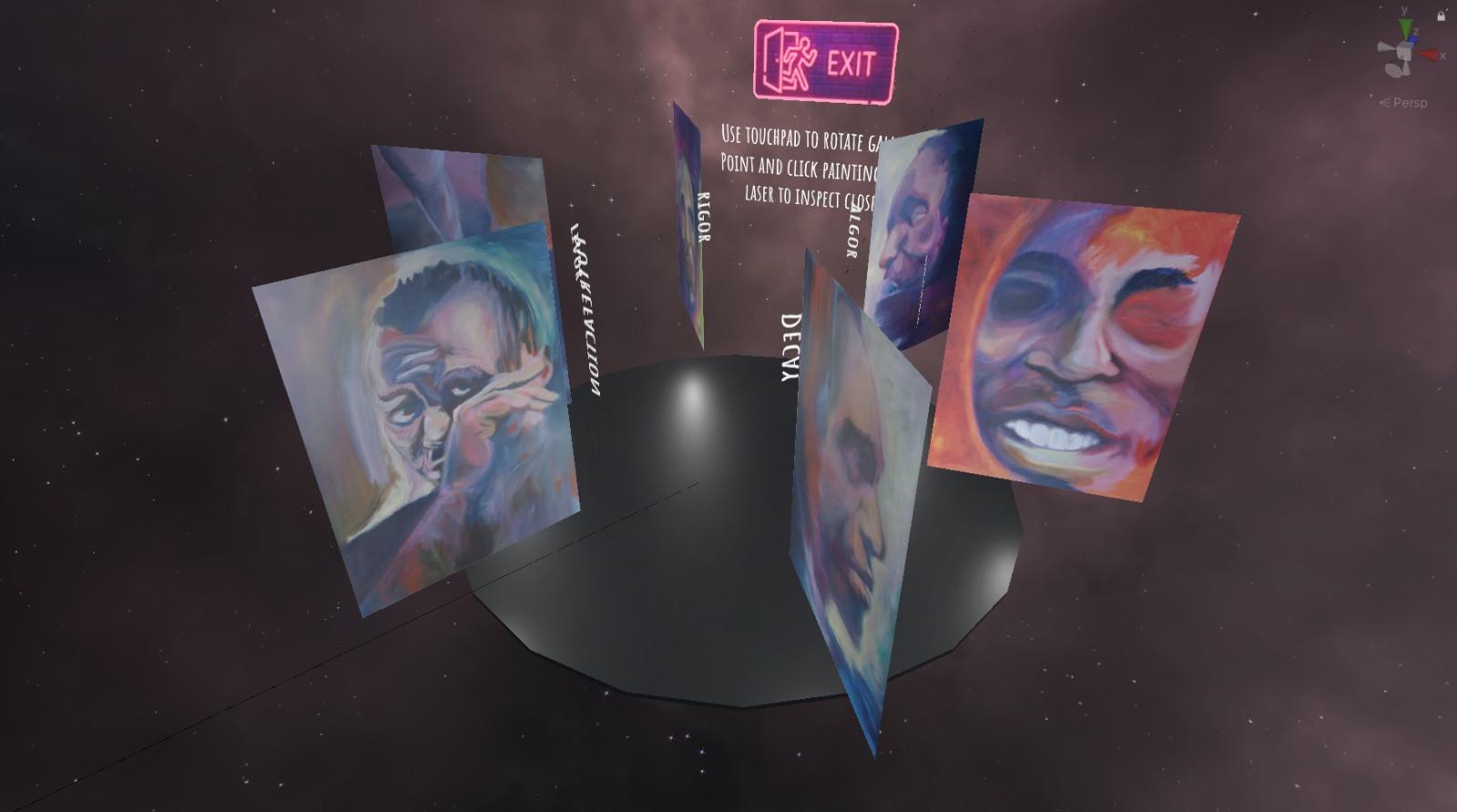 Virtual Gallery Trevor's Room