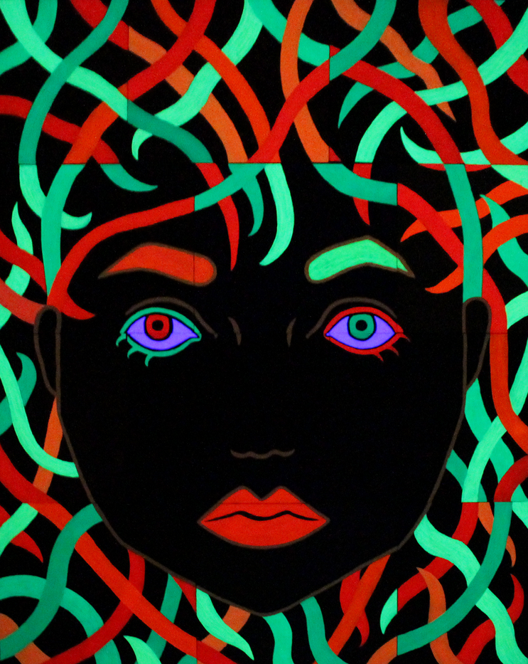 Paintings Blacklight