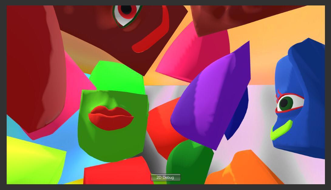 Virtual Gallery Inka's Room 2