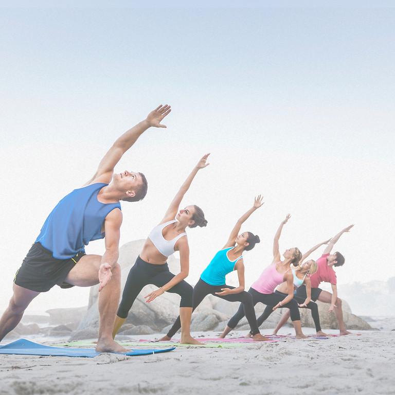 Yoga on the Beach 6/27