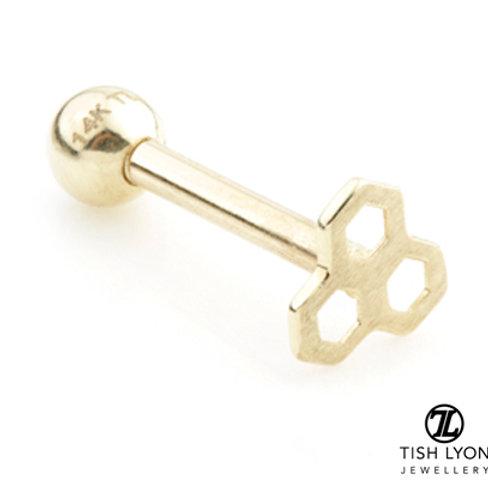 TISH LYON® Gold Honey Comb Microbar