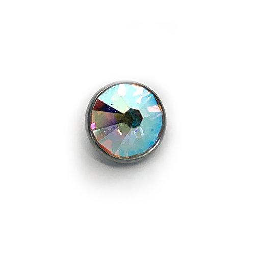 8mm Titanium AB Jewel Disk For Dermal Anchor