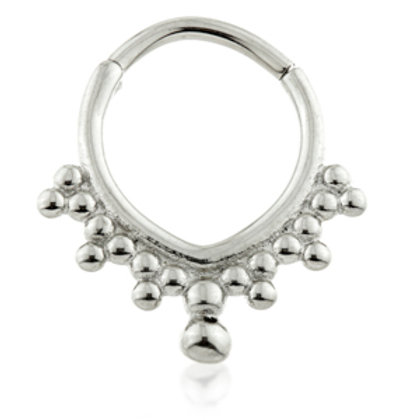 1.2mm Steel V Shape Hinge Segment Ring