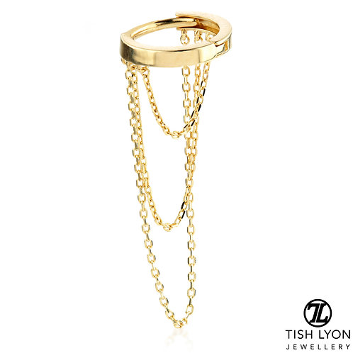 TISH LYON® - Chain on Hinge Ring