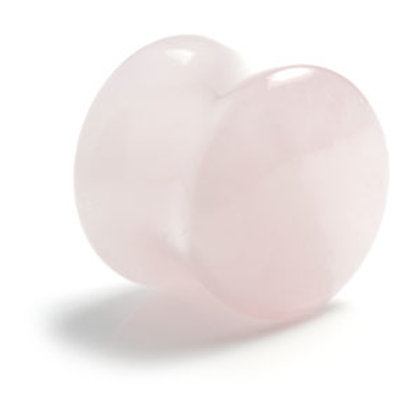 Rose Quartz Plug  - Sold Individually