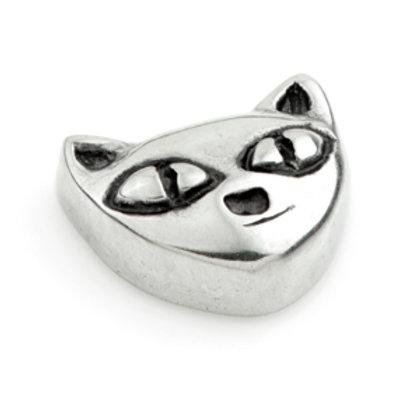 Steel Micro Cat 1.2mm x 8mm Labret Bar