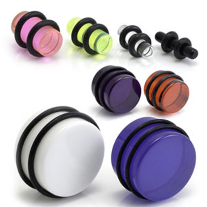 Acrylic Plugs - Sold individually
