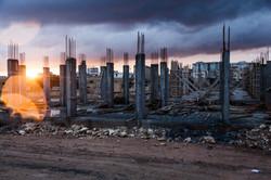 building reconstruction Kobane
