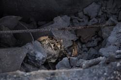 Skull of ISIS member in Kobane