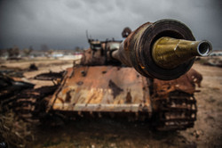 This is Kobane: Tank Cemetery