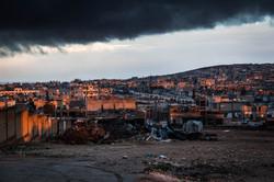 This is Kobane: clouds over Kobane