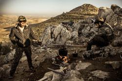 YPG fighters Tishrin dam Kobane
