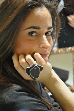 Alessia Canella   visita il mio stand presso la Fiera di Vicenza e poi ci racconta   nel suo blog...