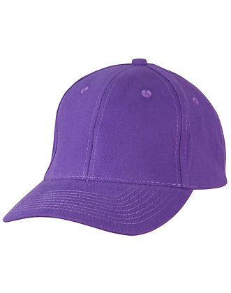 View Purple Cap - One Size Fits All - with logo