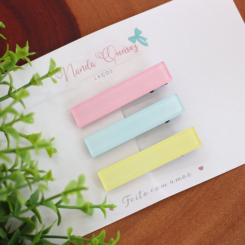 Kit Hair Clips Candy