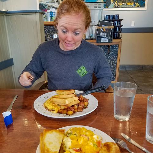 Finally some breakfast!
