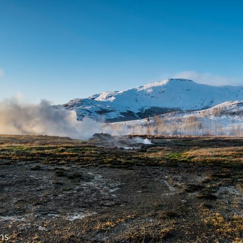Smaller geysers