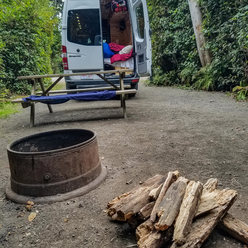 The campsite!