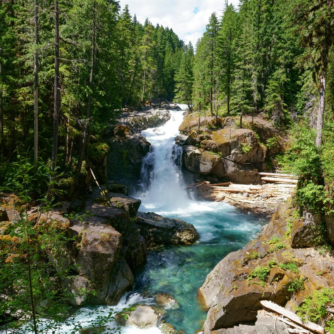 Silver Falls (from the bridge)