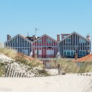 Striped houses #2, 3, & 4