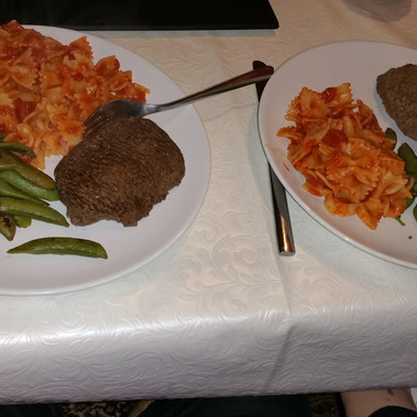 Home cooked meal!
