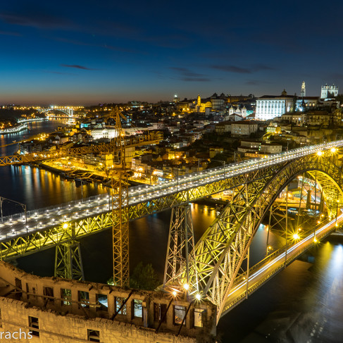 Luis I Bridge Night