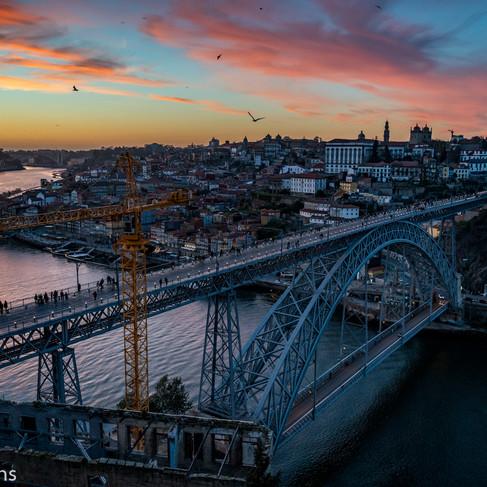 Luis I Bridge Sunset