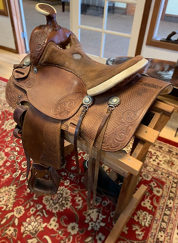 Art Hugenberger Western saddle