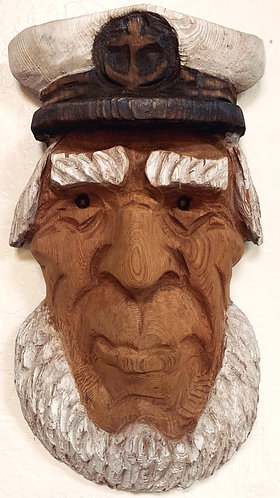 Carved Sea Captain