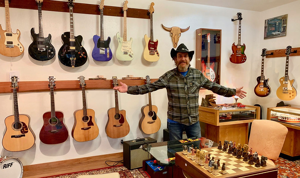 Guitars, Custom woodworks, curiosities, Ainsworth Woodworking
