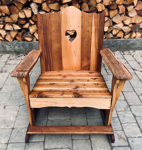 Adirondack Rocking Chair front