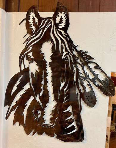 Acid-washed steel Horse Feathers
