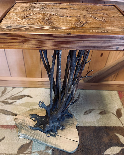 Rhododendron Leg Crab table side