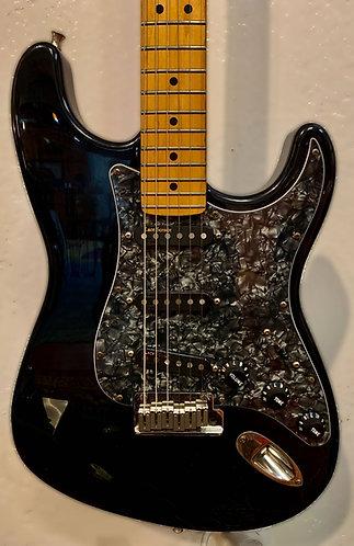 Black Fender Strat body