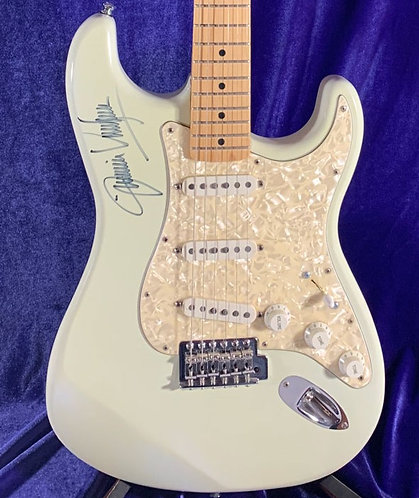 Jimmie Vaughn Signed Fender Stratocaster body