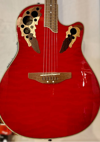 Red Ovation body