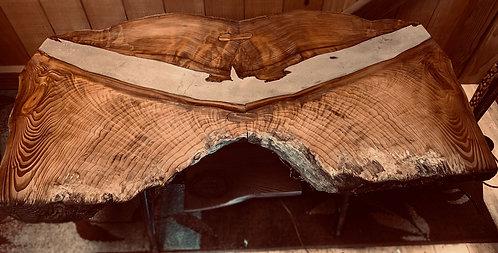 Redwood Cement Bird table top