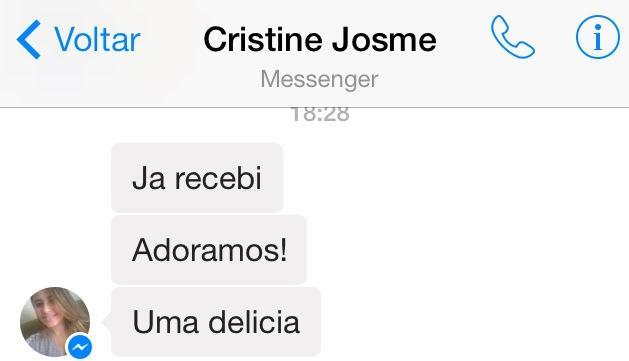 Obrigada Cristine Josme! _)