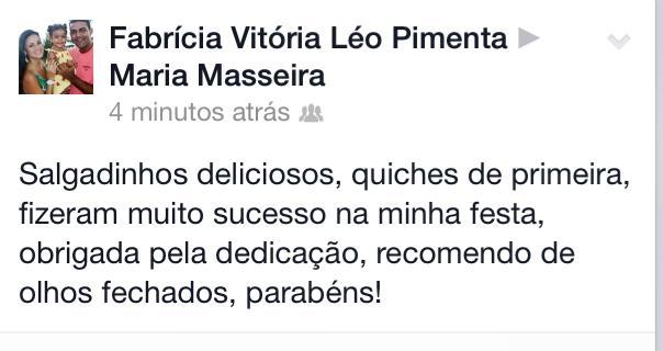 Obrigada Fabrícia Vitória Léo Pimenta!!!