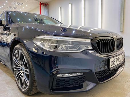 BMW 5 M Mediterranean Blue 2 слоя керамики EVERGLASS