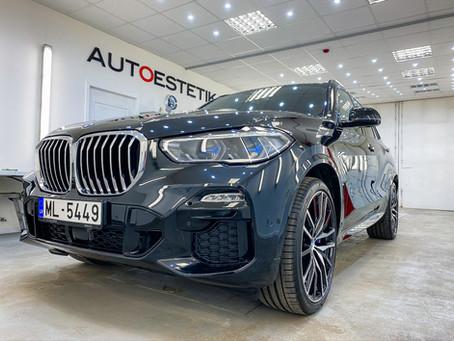BMW X5 M 2020, нанесение керамики EVERGLASS