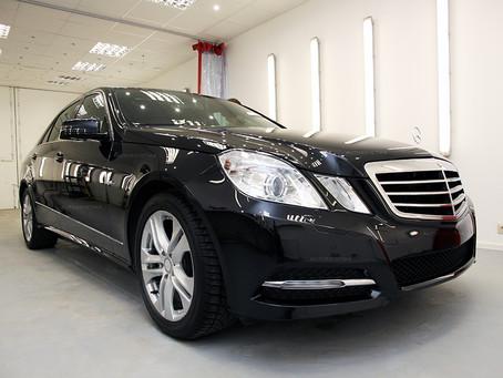 Mercedes W212 2011 Полный дитейлинг