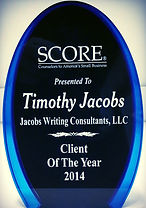 2014 SCORE Client of the Year Award